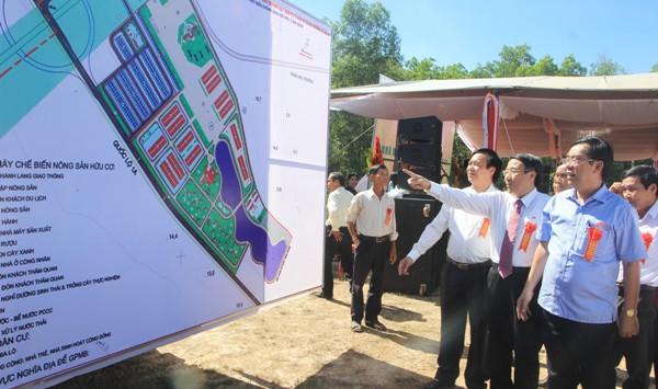 Diện tích thực hiện dự án 50 ha, tổng vốn đầu tư dự án 100 tỷ đồng