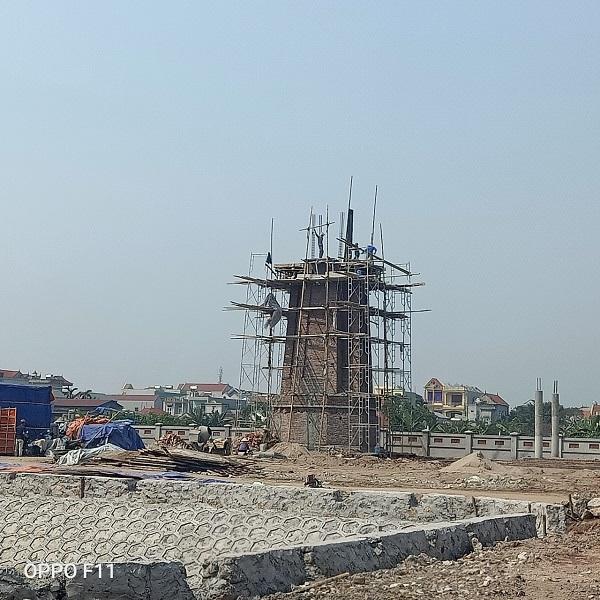 Công trình tại nghĩa trang liệt sĩ thị trấn Liễu Đề