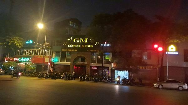 Quán GM café núp bóng kinh doanh giải khát để hoạt động quán bar, vũ trường trái với ngành nghề đăng ký
