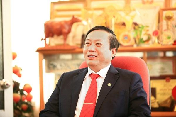 Ông Trần Công Chiến - Chủ tịch HĐQT, Tổng Giám đốc Công ty Cổ phần Giống bò sữa Mộc Châu