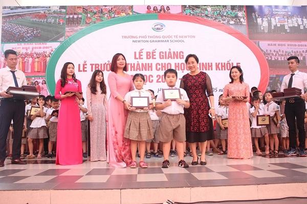 Lễ tuyên dương và tặng thưởng cho các em học sinh đạt được thành tích xuất xắc trong năm học 2018 – 2019