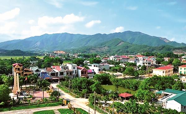Nông thôn mới ở huyện Yên Lập, tỉnh Phú Thọ