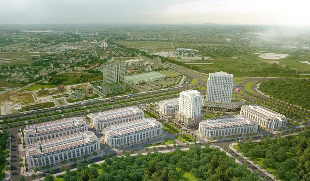 Eurowindow Garden City tạo điểm nhấn giữa trung tâm mới của TP.Thanh Hóa
