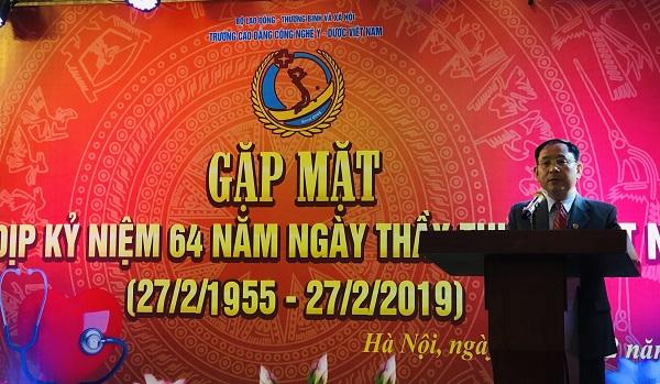 Ông Đinh Thanh Tùng, Phó Chủ tịch HĐQT phát biểu tại buổi gặp mặt