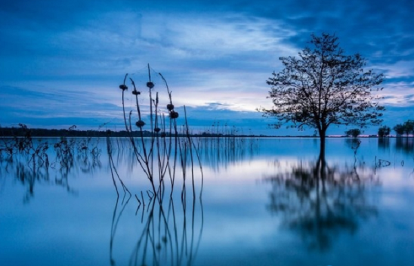 Vẻ đẹp thơ mộng của hồ Ea Sno