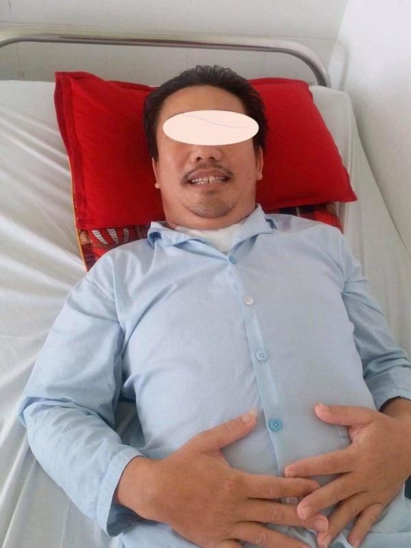 Bệnh nhân sau phẫu thuật can thiệp điều trị bóc tách động mạch chủ lên