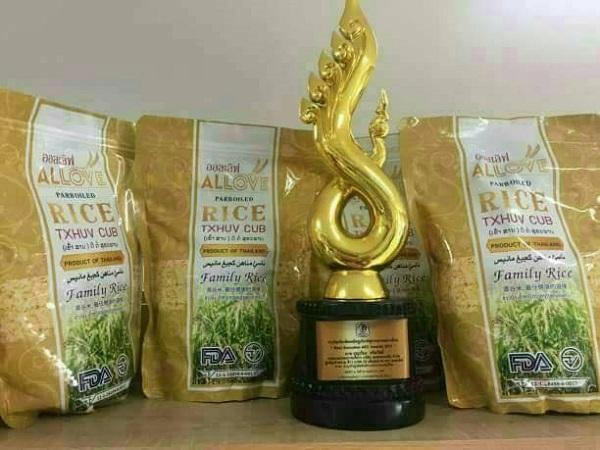 Sản phẩm gạo Allove Rice