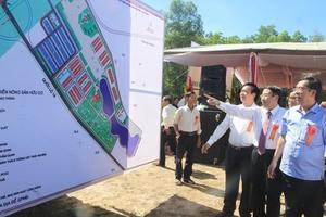 Khởi công nhà máy chế biến nông sản hữu cơ ở Quảng Trị
