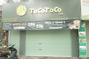 Thực hư những lùm xùm xoay quanh cửa hàng TocoToco 51B Xuân La những ngày qua