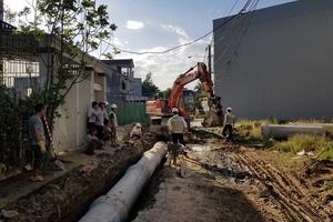 Công ty Winhouse Hà Tĩnh tài trợ xây cống thoát nước dân sinh