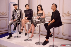 Ghi hình The Tiffany Vietnam: Hương Giang hóa 'chị đại' với dáng pose quyền lực đọ dáng cùng người đẹp Di Băng
