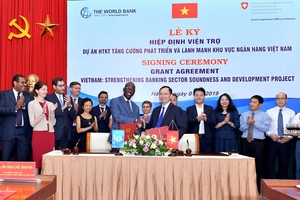 World Bank tài trợ Việt Nam 2,2 triệu USD phát triển ngành ngân hàng