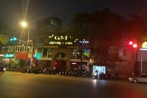 Hà Nội: Quán Café GM kinh doanh như vũ trường, chính quyền kêu khó xử lý!