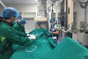 Hà Tĩnh: Gần 60 trường hợp được chụp và can thiệp mạch