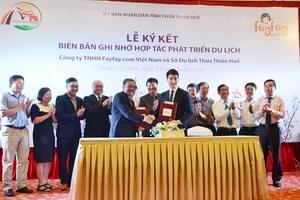 Công ty Fayfay.com hợp tác quảng bá du lịch tại Thừa Thiên Huế