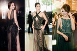 Ngọc Trinh và những bộ trang phục 'mặc như không' gây tranh cãi