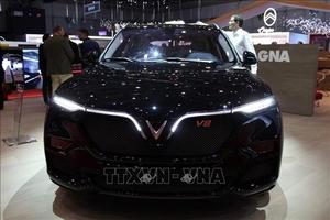 VinFast trình làng mẫu xe SUV Lux phiên bản đặc biệt tại Geneva Motor Show