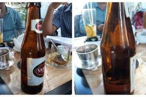 Bán chai bia chỉ có 1/4, Sabeco bị đòi nâng mức bồi thường lên 1 triệu USD