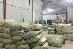 Bắt hàng chục tấn nguyên liệu thuốc bắc nhập lậu