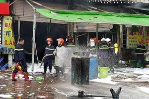 Đã xác định được nguyên nhân vụ hoả hoạn tại quán bia ở Hà Nội