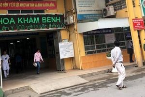 Bệnh viện 103 khẳng định không có thoả thuận độc quyền bến đỗ xe cứu thương