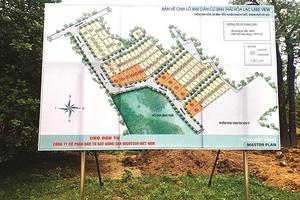 """Dự án """"ma"""" mang tên """"Hòa Lạc Lake View""""!"""