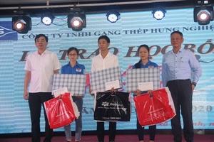Formosa Hà Tĩnh trao gần 400 suất học bổng cho học sinh nghèo