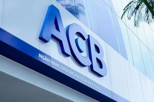 ACB lãi hơn 3.600 tỉ đồng trong nửa đầu năm, được nới room tín dụng lên 17%