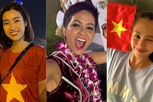 Việt Nam vào chung kết AFF CUP 2018, sao Việt tưng bừng ăn mừng