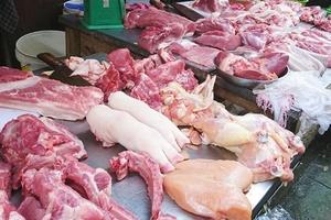 Giá thịt lợn tăng lên mỗi ngày