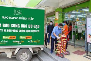 BRG Mart chung tay cung ứng các mặt hàng thiết yếu cho khu vực bị cách ly