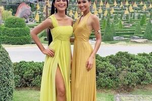 Đây đích thực là tông màu 'phong thủy' H'Hen Niê mê đắm tại Miss Universe 2018