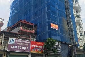 """Công trình """"khủng"""" ở TP. Bắc Ninh: Có dấu hiệu vi phạm?"""