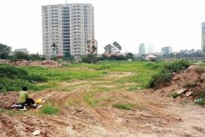 Hà Nội chuẩn bị công bố danh sách 47 dự án phải thu hồi đất do chậm tiến độ