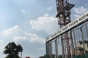 Vụ cần trục tháp tại dự án Thiên niên kỷ hoạt động sai quy định: Vi phạm vẫn tái diễn?