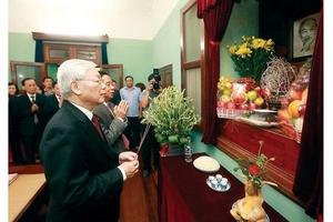 Chủ tịch Hồ Chí Minh và sức mạnh, sức chiến đấu của Đảng ta