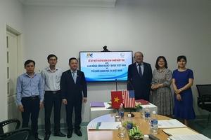 Cao đẳng Công nghệ Y – Dược Việt Nam ký hợp tác với Công ty Cổ phần IIG