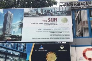 Sẽ đình chỉ toàn bộ, thanh tra dự án The Sun Mễ Trì