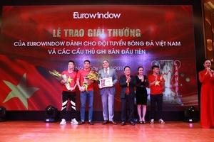 Eurowindow  trao thưởng cho các cầu thủ ghi bàn tại AFF Suzuki Cup 2018