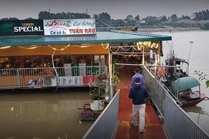 Nhà hàng lấn sông Đuống để kinh doanh: Vì sao chưa xử lý quyết liệt?