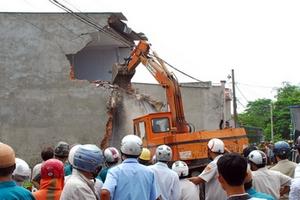 Hà Nội: Hơn 820 công trình vi phạm trật tự xây dựng trong 8 tháng đầu năm 2018