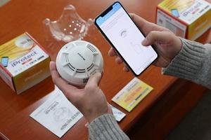 IPROTECT - Giải pháp phát hiện và cảnh báo khói thông minh chính thức ra mắt