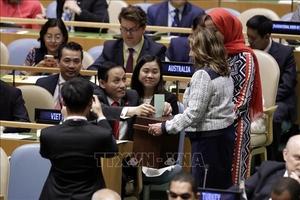 Tiếp tục đóng góp lớn hơn vào hòa bình, phát triển và thịnh vượng trên thế giới