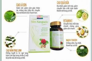 Thực phẩm bảo vệ sức khỏe Slim Kangtado: Có dấu hiệu vi phạm luật quảng cáo?