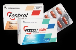Không đảm bảo chất lượng, thuốc viên nang cứng Fenbrat 200 bị thu hồi