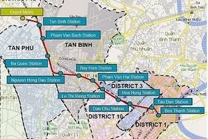 Gia hạn 2 gói thầu thuộc tuyến metro số 2