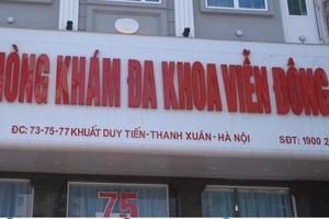 Dấu hiệu vẽ bệnh moi tiền của bệnh nhân tại phòng khám Viễn Đông, Hà Nội