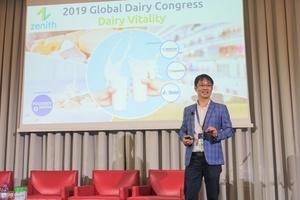 Vinamilk - đại diện duy nhất của Châu Á trình bày về xu hướng Oganic tại Hội nghị sữa toàn cầu 2019