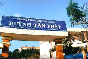 Gói thầu Sửa chữa Trường THPT Huỳnh Tấn Phát (Bến Tre): Hủy thầu do thương thảo hợp đồng bất thành