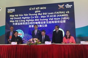 Ký kết hợp tác về cơ khí, môi trường giữa Việt Nam- Đài Loan
